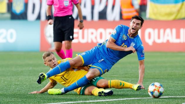 Украина - Литва: где смотреть отборочный матч чемпионата Европы