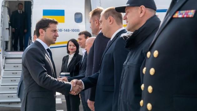 Зеленский прибыл в Одессу: появились фото и видео