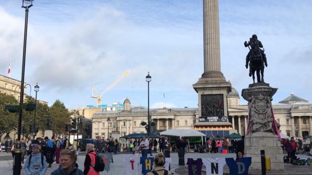В Лондоне за участие в экологической акции задержали принцессу из Бельгии
