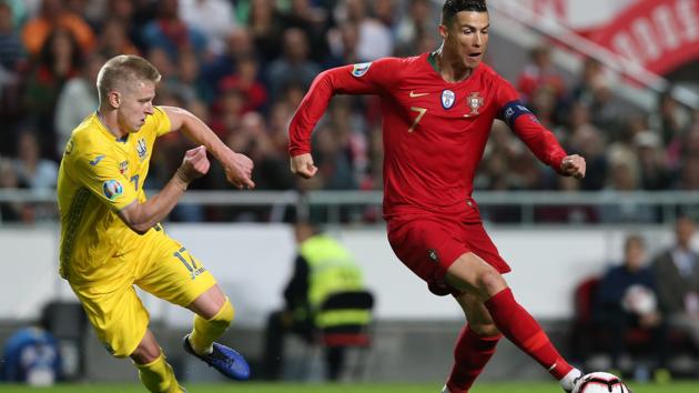 Самый дорогой украинский футболист сравнил Шевченко с Криштиану Роналду
