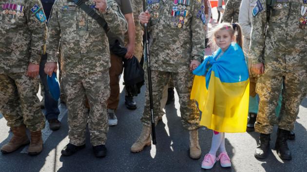 Как проходил марш УПА в Киеве: новые фото