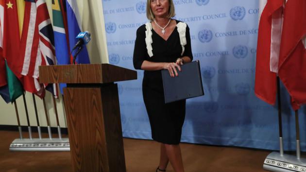 Могерини одобрила озвученный Пристайко план урегулирования конфликта на Донбассе