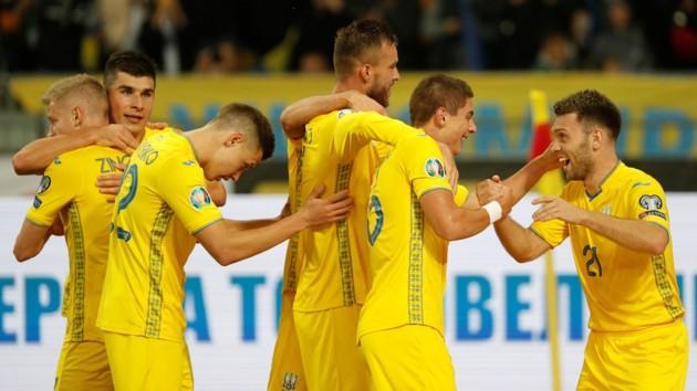Украина - Португалия: видео голов и лучших моментов отборочного матча Евро-2020