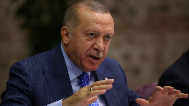 Эрдоган прокомментировал вход сирийской правительственной армии в Манбидж