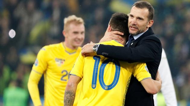 До Шевы такого не было за всю историю: Украина впервые вышла в финальную часть Евро напрямую