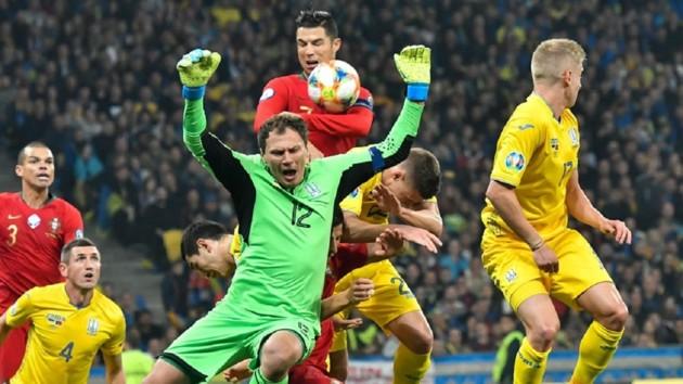 Статистики назвали неожиданного героя матча Украина-Португалия