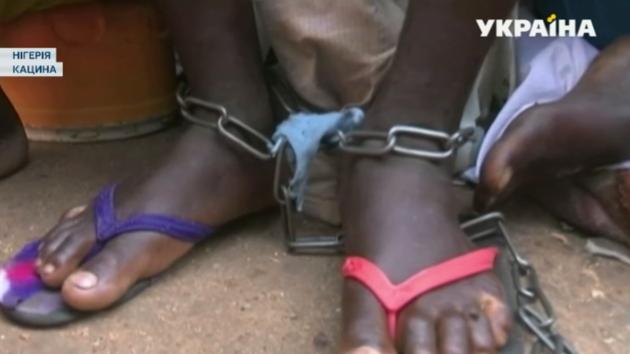 Из рабства освободили 70 мальчиков и мужчин в Нигерии – видео