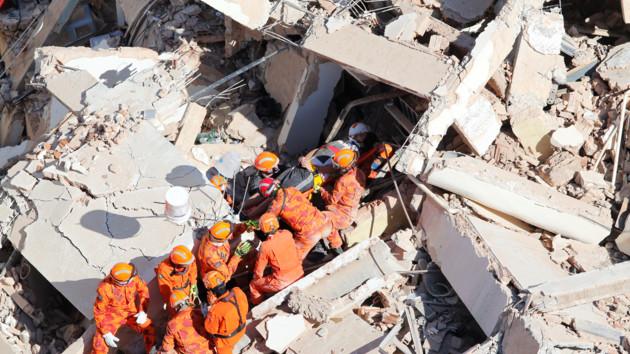 В Бразилии рухнул семиэтажный жилой дом, есть жертвы