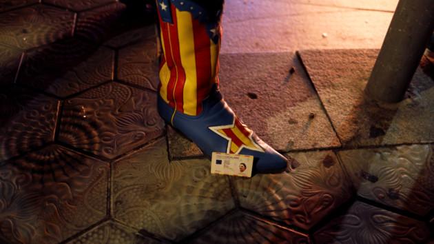 Протесты в Каталонии: полицейские применили силу