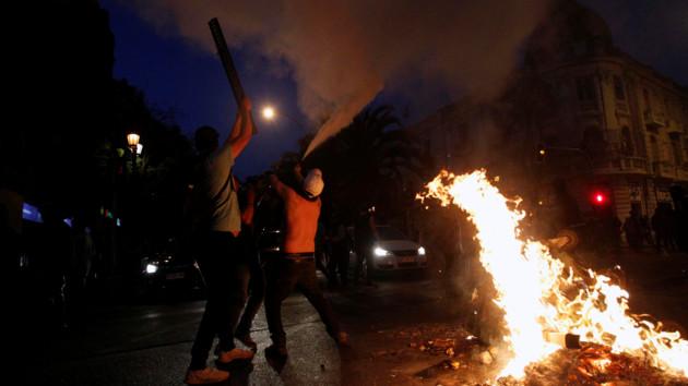 В столице Чили вновь ввели комендантский час из-за беспорядков