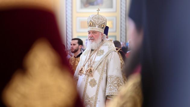 Патриарх Московский и всея Руси Кирилл. Фото: REUTERS/Sergey Pivovarov