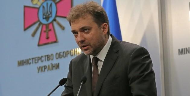 Министр обороны Андрей Загороднюк. Фото:  пресс-служба Минобороны.