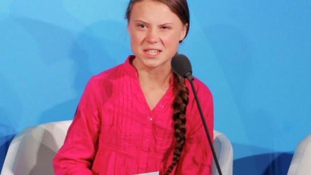 Грета Тунберг Фото: YouTube / Fox News