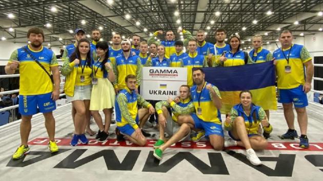 Сборная Украины по ММА