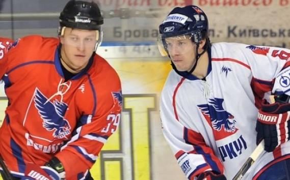 Юрий Елисеенко (слева)