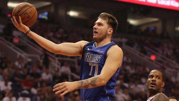 Лука Дончич хизується в НБА