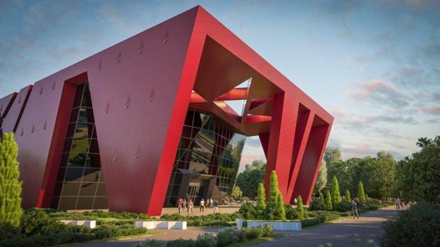 Дворец спорта в Житомире