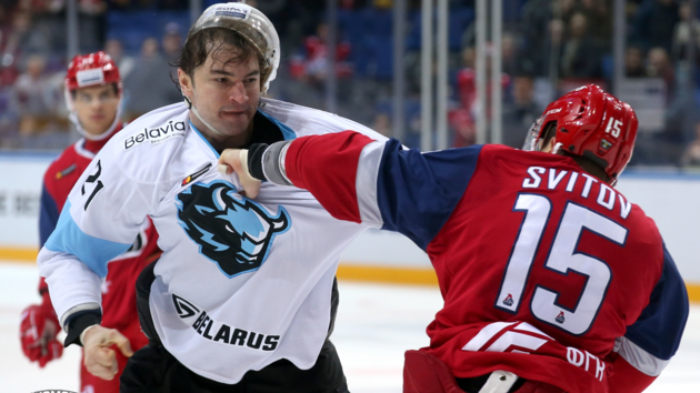Хоккейная драка Евенко vs Свитов