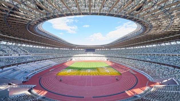 Стадион в Токио ждет Олимпийские игры