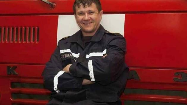Фото: Пушкинская Пожарный Сергей Шатохин