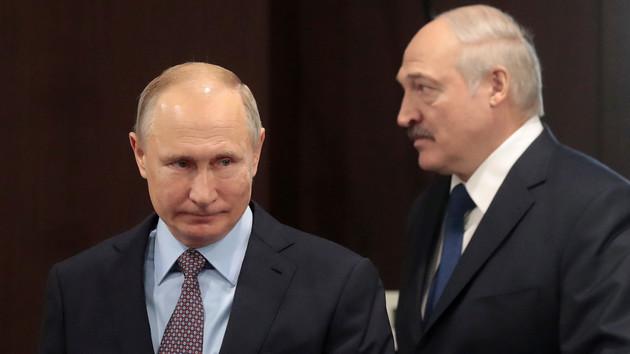 Владимир Путин и Александр Лукашенко. Фото: Sergei Chirikov/REUTERS