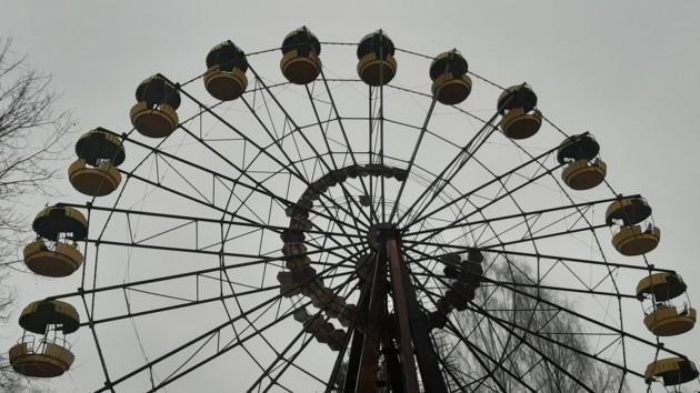 Колесо обозрения стало неофициальным символом города-призрака
