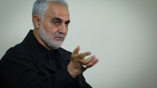 Касем Сулеймані. Фото: пресслужба верховного лідера Ірану Алі Хаменеї