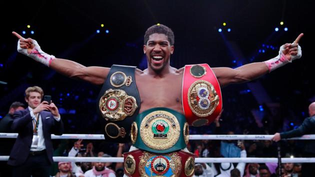 Джошуа - чемпіон світу