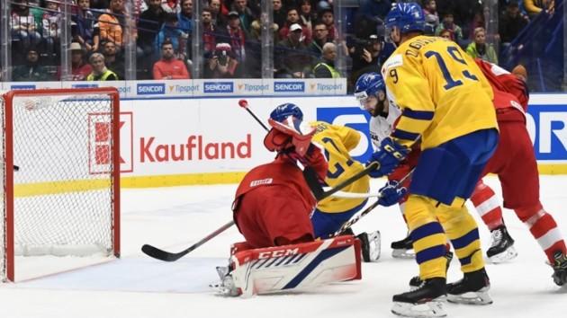 Шведы не удержала преимущество над россиянами