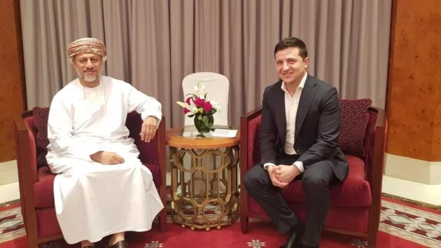 Встреча Владимира Зеленского и Абдулсалама аль-Муршиди