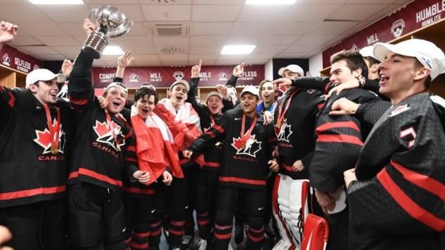 Героем финала молодежного чемпионата мира по хоккею канадцы назвали телекамеру