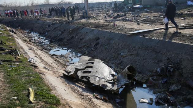 В Минобороны Ирана назвали виновного в катастрофе украинского самолета в Тегеране