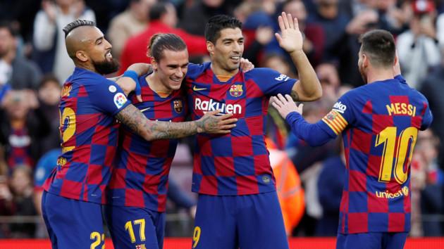 """""""Барселона"""" в півфіналі Суперкубка Іспанії грає з мадридським """"Атлетіко"""""""
