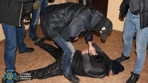 СБУ в Харькове задержала предателя-диверсанта