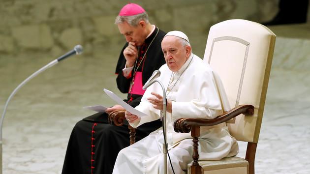 Папа Римський Франциск. Фото: REUTERS/Remo Casilli
