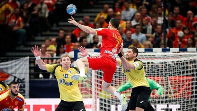 Украина - Северная Македония/Фото men2020.ehf-euro.com
