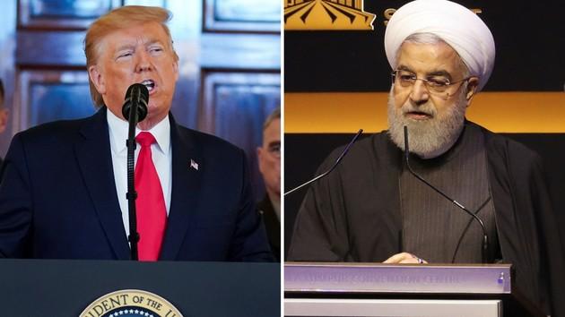Президенты США и Ирана Дональд Трамп и Хасан Рухани. Фото: REUTERS/Kevin Lamarque, Lim Huey Teng