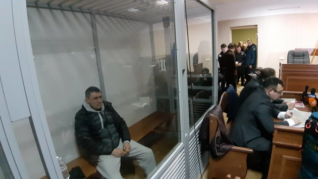 Игорь Редькин на суде
