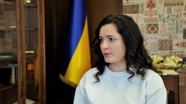 Зоряна Скалецька, міністр охорони здоров'я