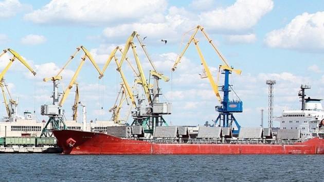 """Порт """"Ольвия"""". Фото: t.me/PMHoncharuk"""