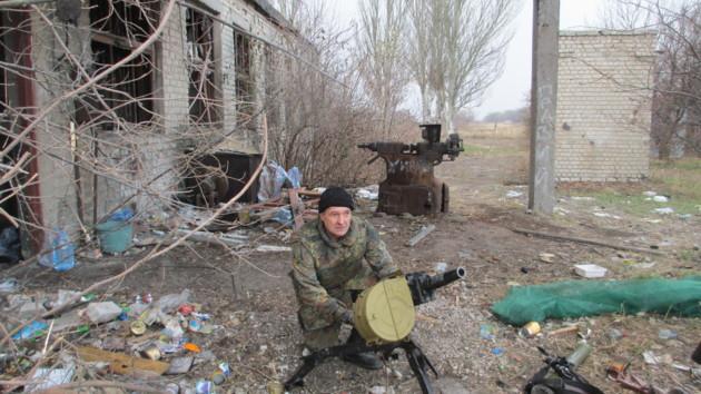 Олександр Ушинський під ДАПом (фото надане О. Ушинським)