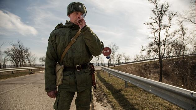 Российский солдат в Приднестровье
