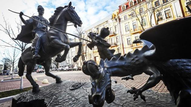 "Памятник ""Казаку-победителю"". Фото: t.me/SBUkr/"