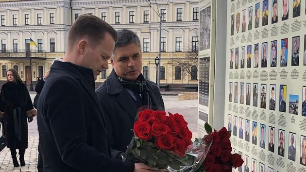 Вадим Пристайко и Йеппе Кофод / Фото @DanishMFA