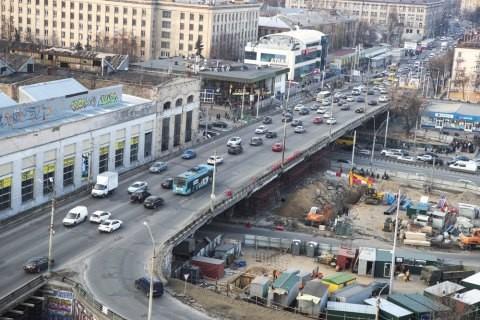 Стройку развязки на Шулявском путепроводе снова перенесли: названа причина