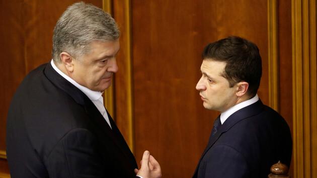 Зеленский прокомментировал ситуацию с судом над Порошенко