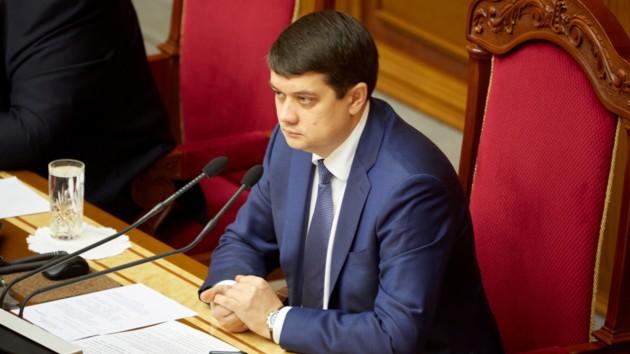 Бывший «слуга народа» подал в суд на Разумкова из-за банковского закона
