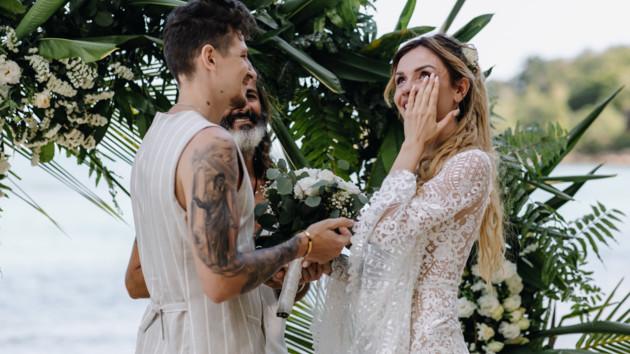 Мечта невесты: MamaRika поделилась волшебным свадебным видео