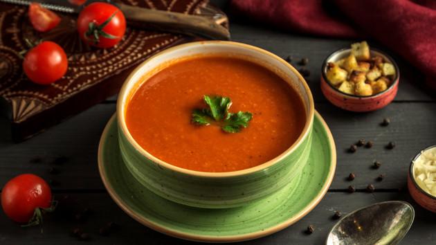 Как сварить постный томатный суп с булгуром и чечевицей