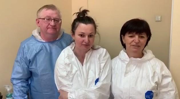 Столичные врачи записали видеообращение к киевлянам